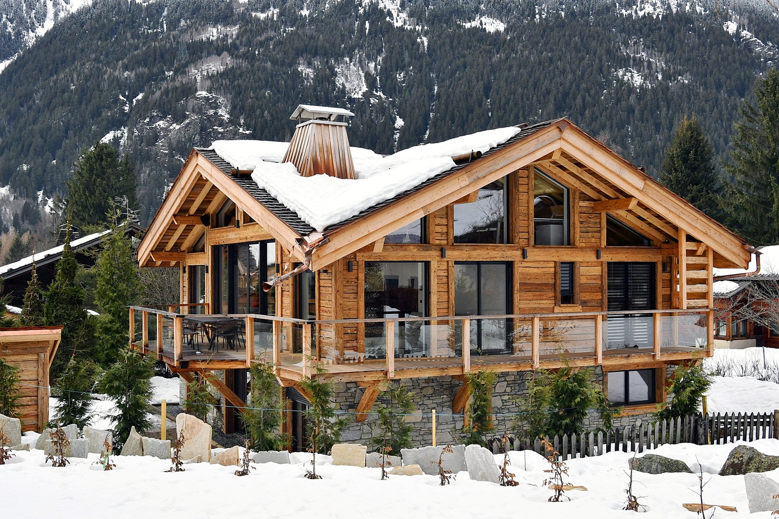 Chalet for sale name chalet bois de bruy re chamonix mont blanc france - Chalet en bois swan valley ...