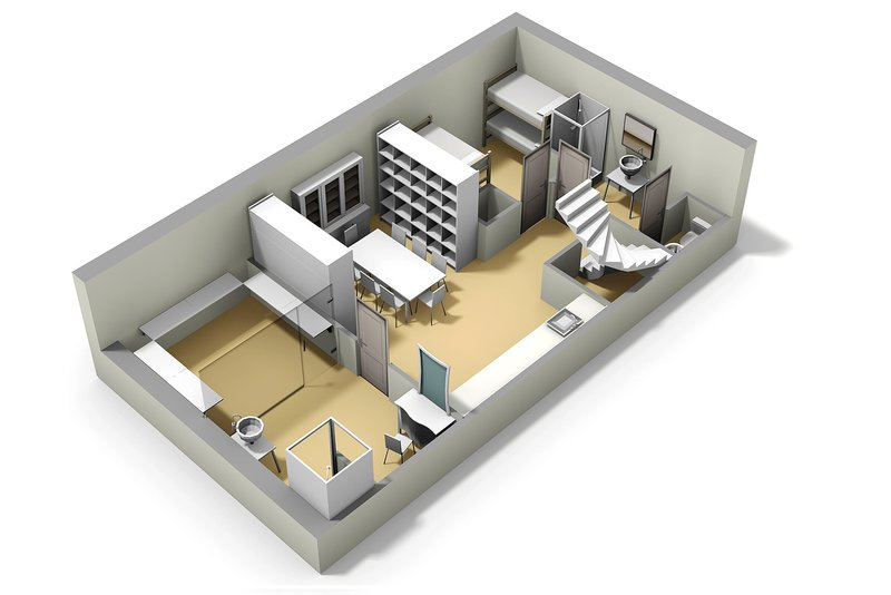 An idea for the basement layout