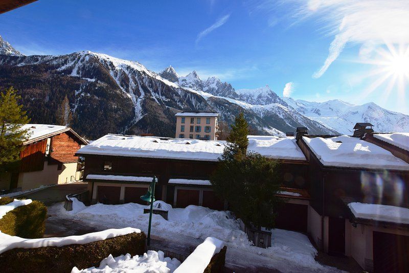 View from the chalet|Vue du chalet